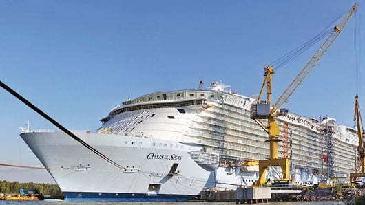 Oasis of the Seas, Finland