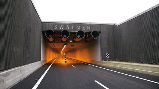 Motorway tunnels, the Netherlands