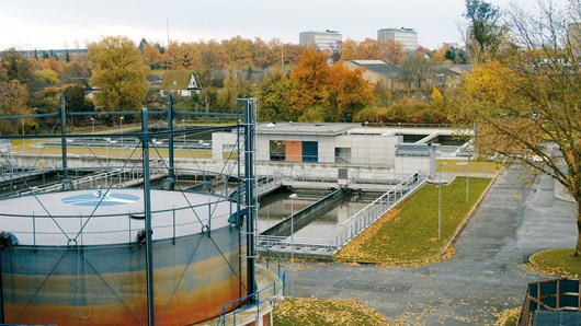 Odense wastewater treatment plants, Denmark