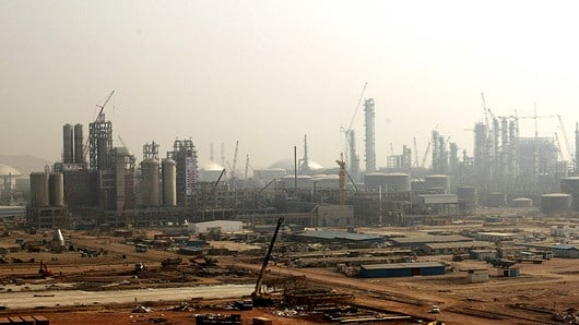 Nanhai petrochemical project, China