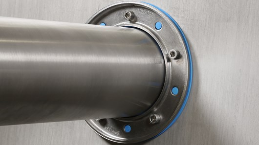 Roxtec non-weld metal pipe seal now certified for use in aluminum structures