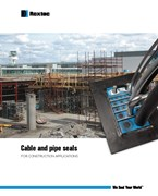 Cable and pipe seals for construction applications