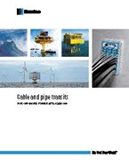 Cable and pipe transits for offshore power applications