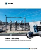 Roxtec cable seals for power transmission and distribution applications