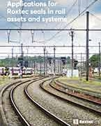 Applications for Roxtec seals in rail assets and systems