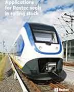 Applications for Roxtec seals in rolling stock