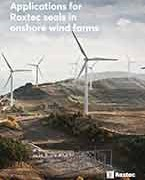 Applications for Roxtec seals in onshore wind farms