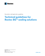Technical specification for Roxtec BG™ solutions