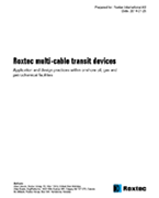 White paper - Multi cable transit devices