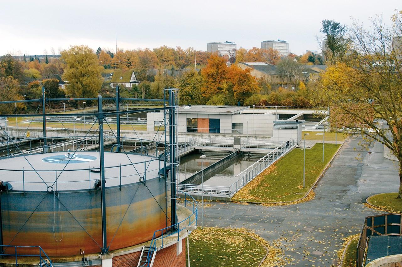 Seals For Refurbishment Of Water Treatment Plants Roxtec