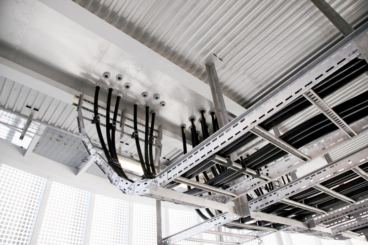 лоток кабельный оцинкованный