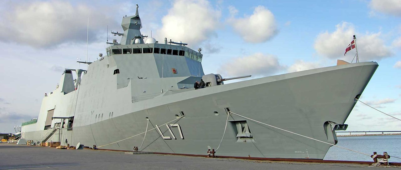 Cable and pipe transits for naval vessels