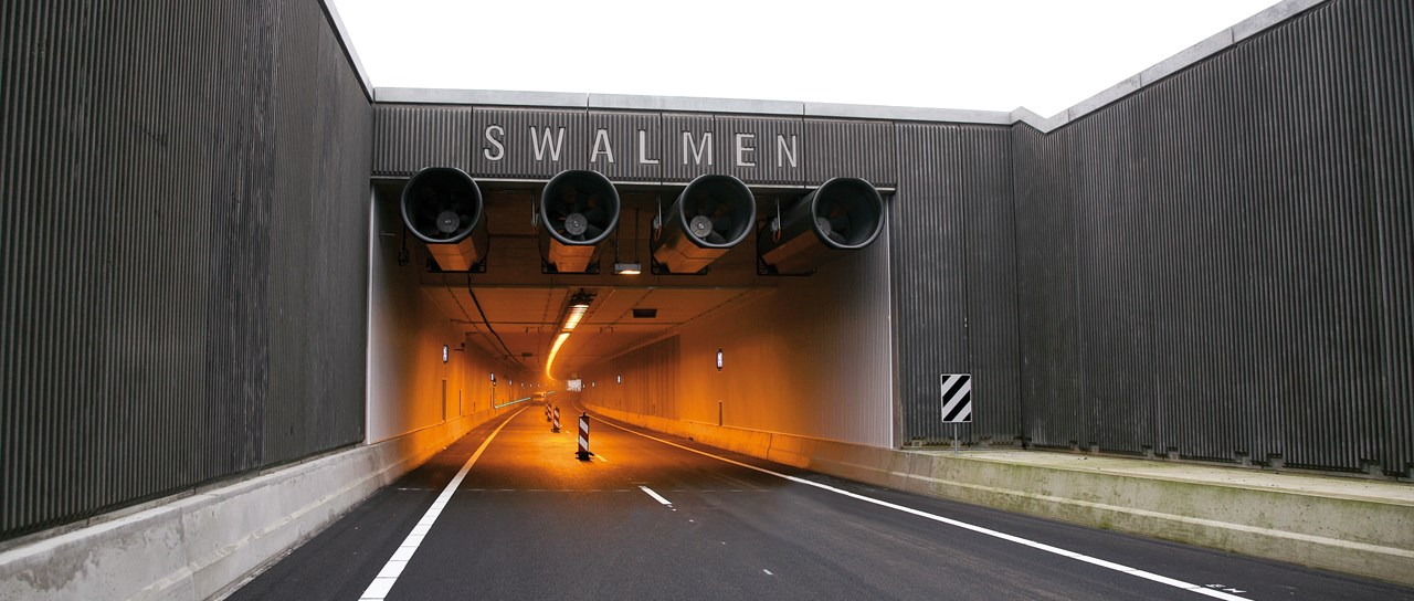 Maximized safety in motorway tunnels