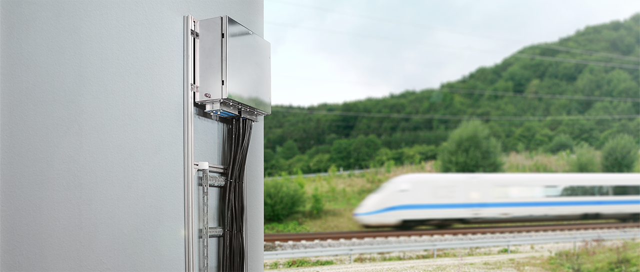 Efficient protection of rail control systems
