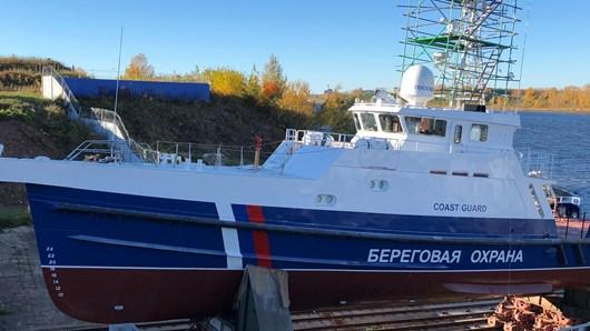 Уплотнения для труб Roxtec выбраны для российского патрульного катера