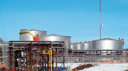 Arenas petrolíferas Statoil, Canadá