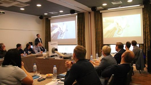 Ежегодный семинар по герметизации кабельных и трубных вводов Roxtec в морском сегменте