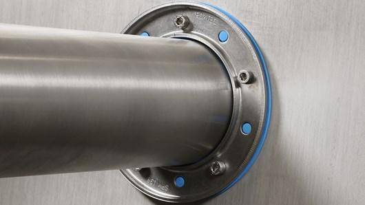 Roxtec SPM™ Dichtung, zertifiziert für Aluminiumkonstruktionen