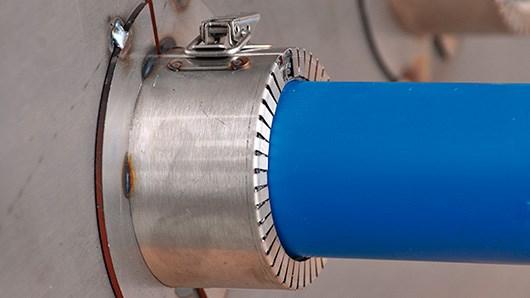 Roxtec presents new plastic pipe seals for aluminum structures