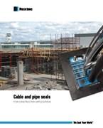 ケーブルとパイプ用シール 建設用途