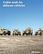 Cable seals for defense vehicles