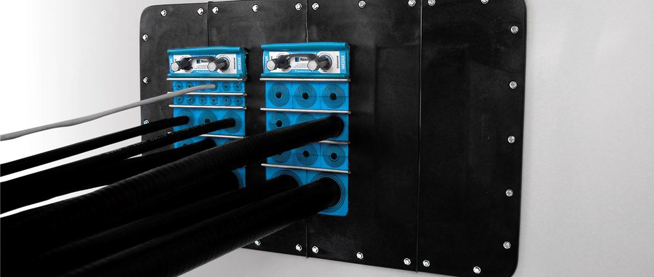 Installation of rectangular sealing solutions