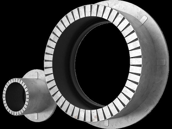 Wodoodporne uszczelnienie przejścia Roxtec Sleev-it™